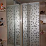 угло серый блестящийвой шкаф