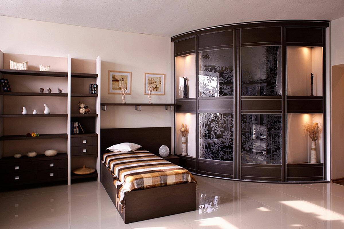урок идеи красивых угловых шкафов в спальню фото йерка