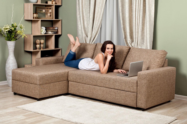 Модульные диваны можно