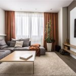 угловой диван в доме