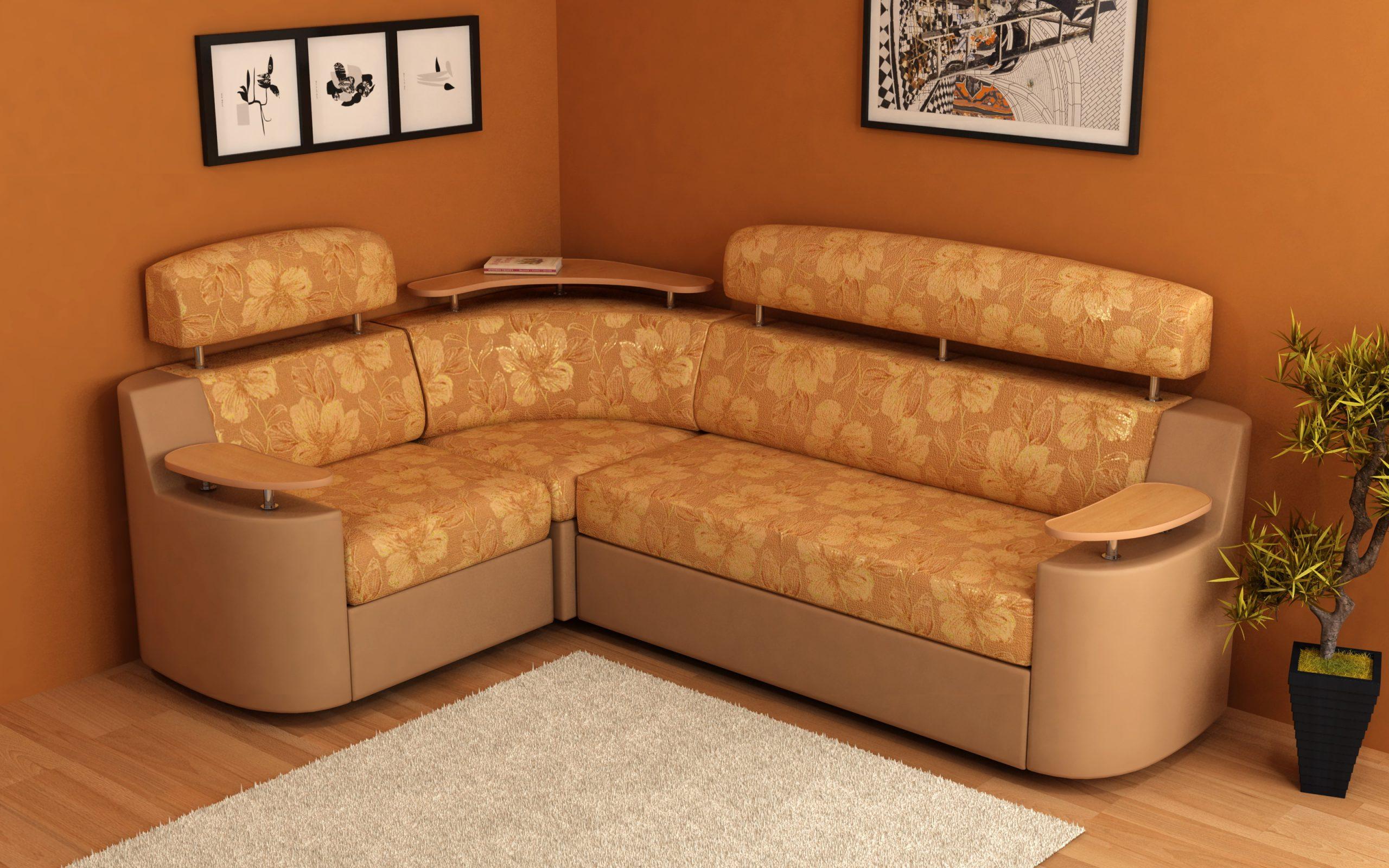 Угловой диван предназначен