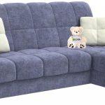 диван угловой синий