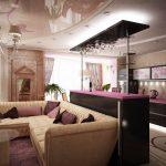 диван угловой с баром