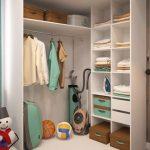 шкаф в прихожую объемный