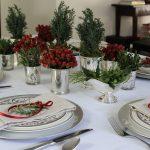 украшение стола к празднику декор