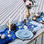украшение стола к празднику варианты