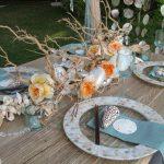 украшение стола к празднику варианты идеи