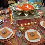 украшение стола к празднику виды