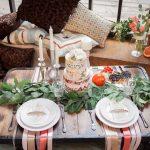 украшение стола к празднику фото виды