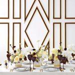 украшение стола к празднику виды декора