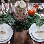 украшение стола к празднику фото идеи