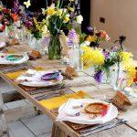 украшение стола к празднику дизайн