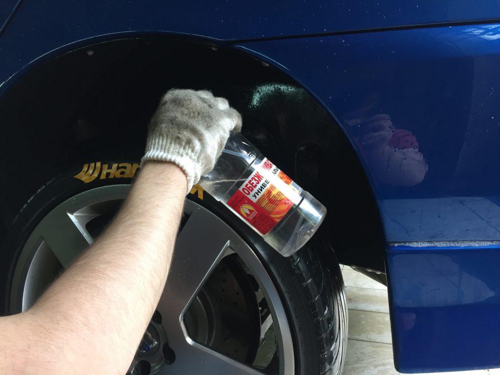 универсальное средство для чистки автомобиля