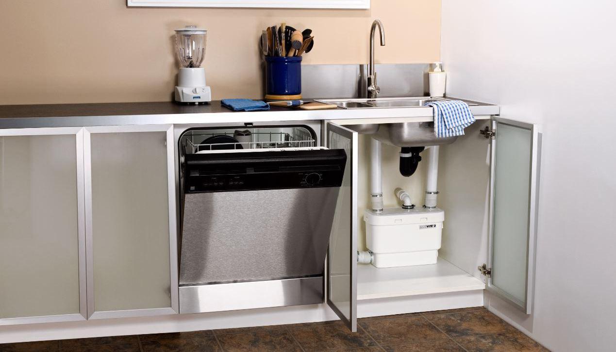 установка посудомоечной машины на кухню