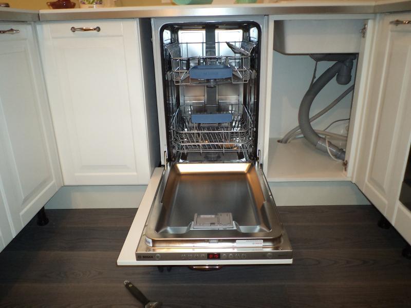 установка посудомоечной машины в нишу