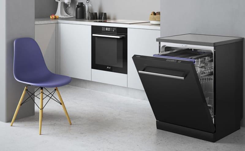установка посудомоечной машины в отдельностоящий модуль