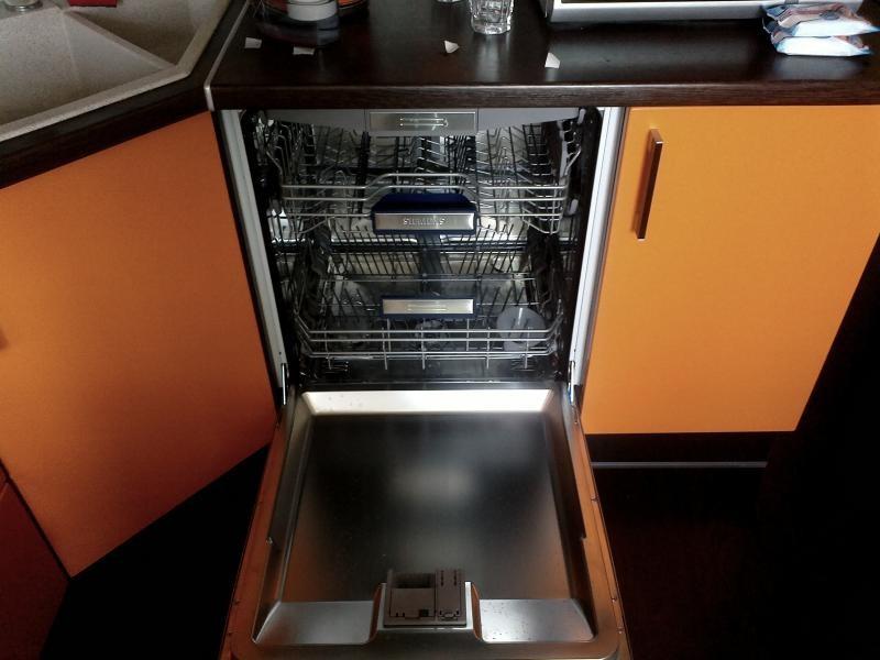 установка посудомоечной машины в шкаф