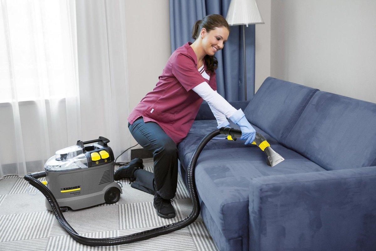 чистка замшевого дивана