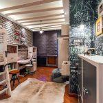 необычный дизайн комнаты