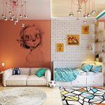как оформить стены в комнате подростка