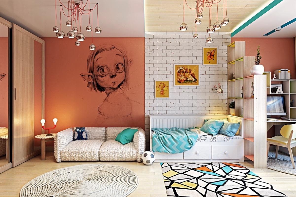 Картинки для оформления стены в комнате подростка