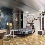 оригинальный дизайн комнаты для девочки подростка