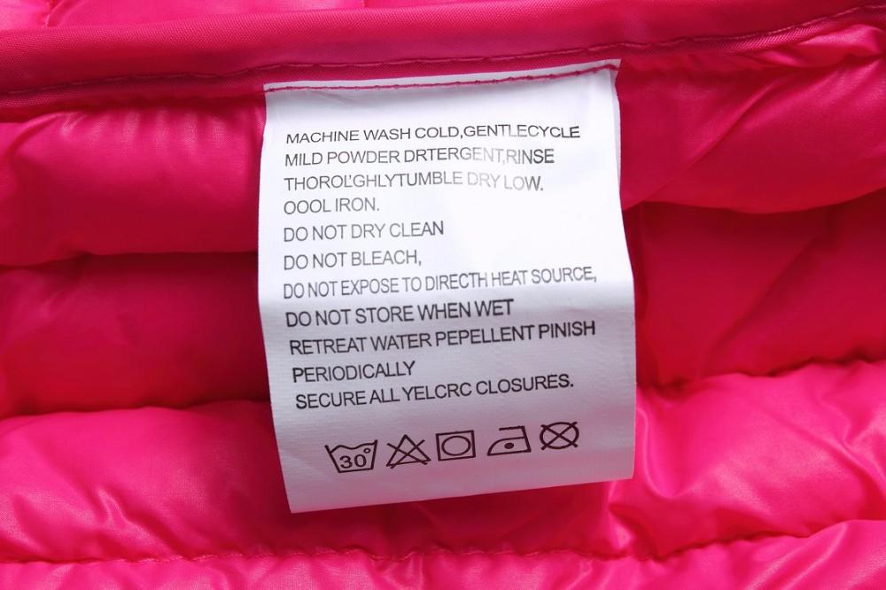 советы по уходу за одеждой из биопуха