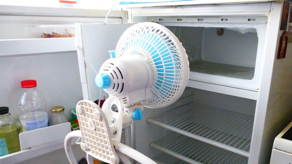 вентилятор для разморозки холодильника