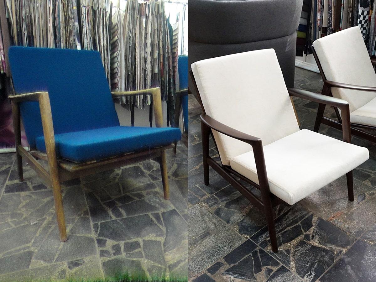 восстановленное кресло