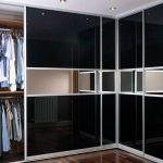 встроенный шкаф купе с натяжным потолком фото декор