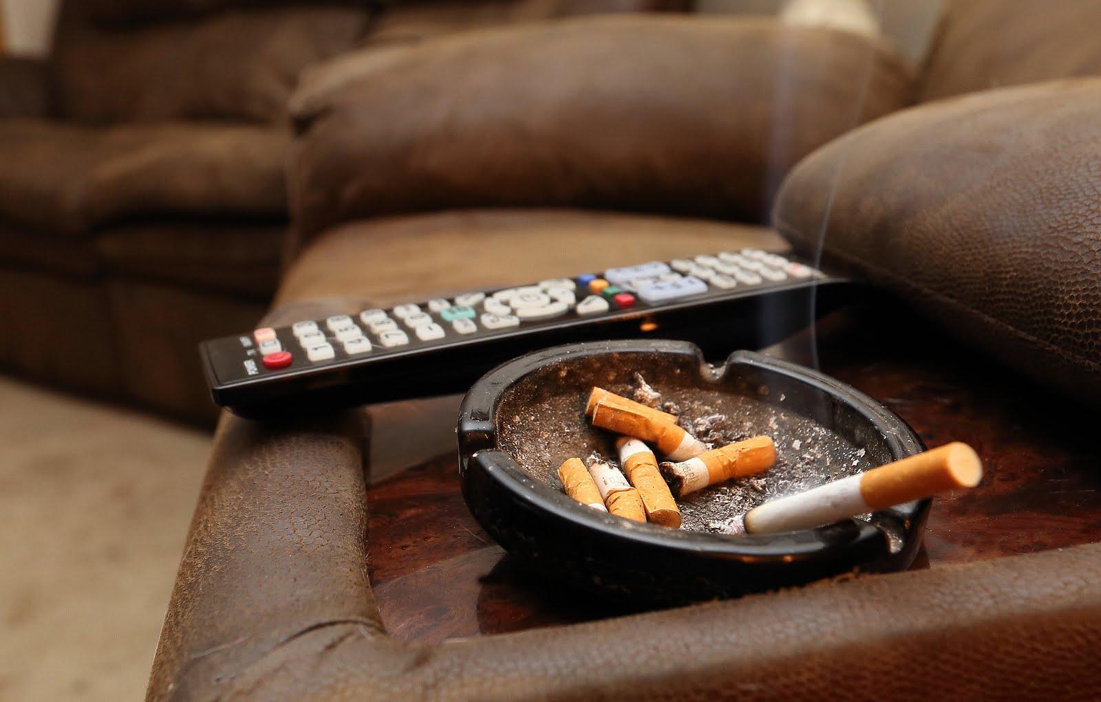 не курить дома