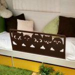 бортик сова на детскую кровать