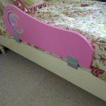 бортик для кроватки девочки
