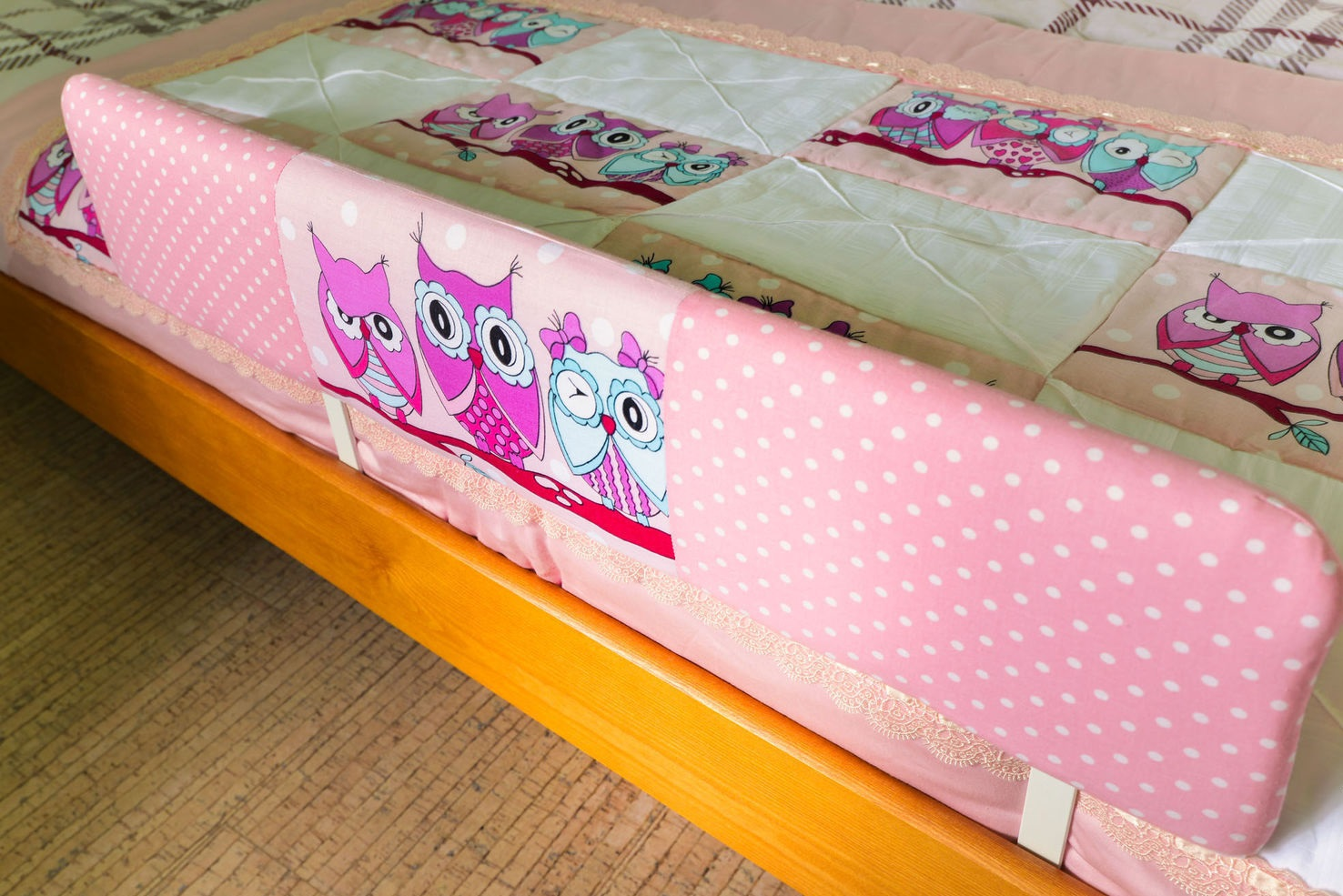 мягкий бортик для детской кровати своими руками