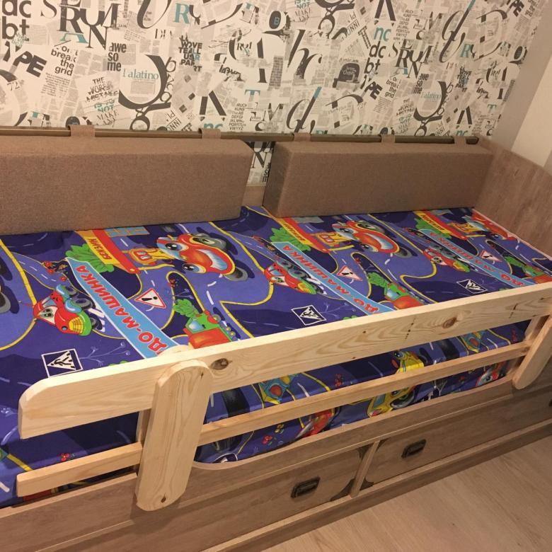 как сделать бортик для кровати