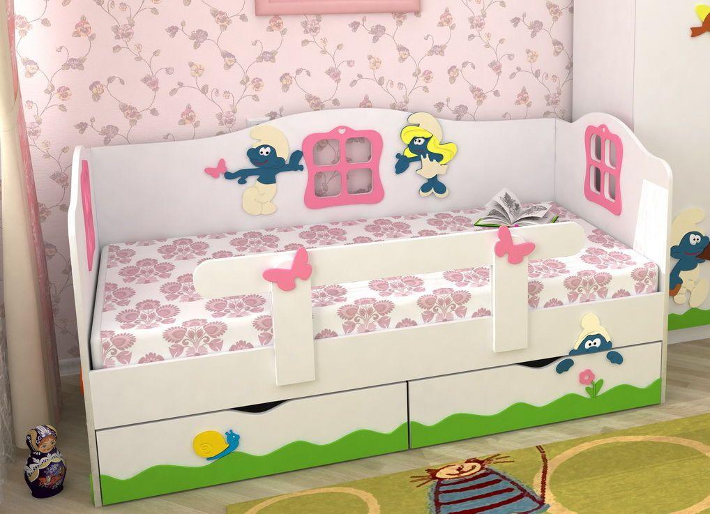 оригинальный бортик для кроватки ребенка