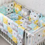 бортик-подушки для кровати