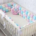 оригинальный бортик для детской кровати