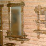зеркало в бане
