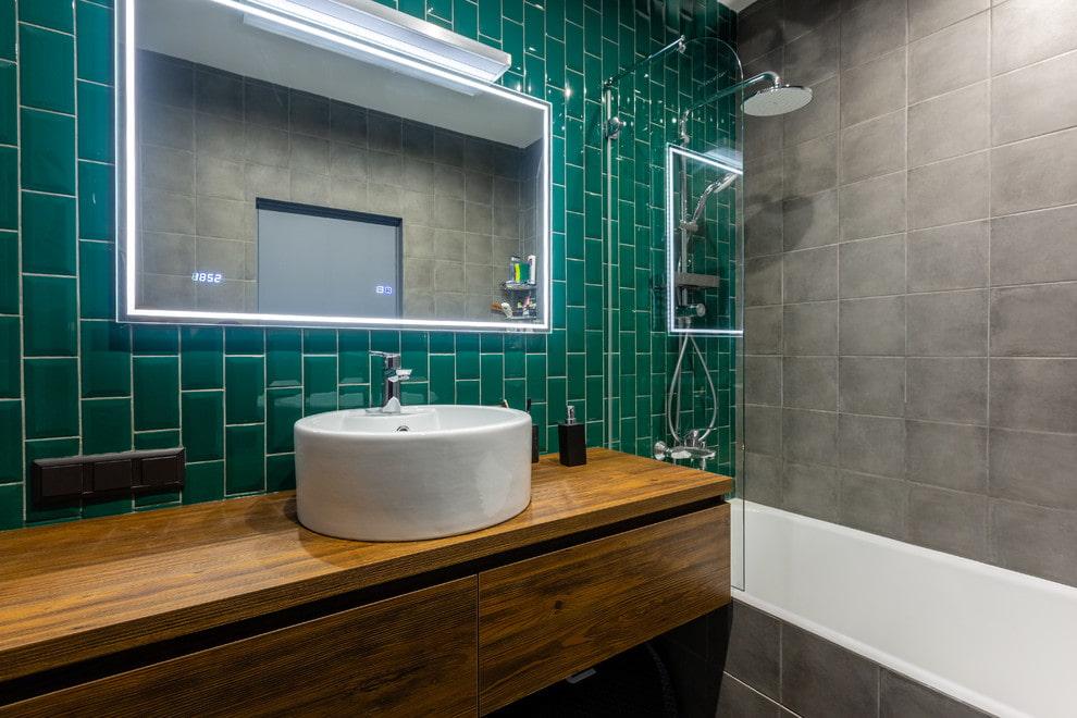 зеркало в ванной фото дизайна