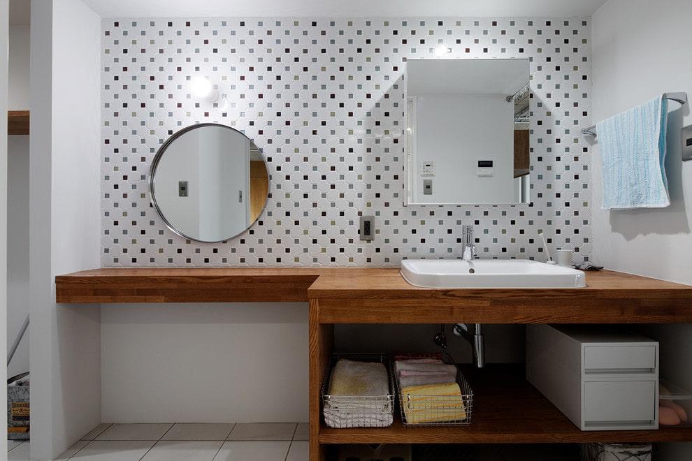 зеркало в ванной идеи фото