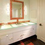 зеркало в ванную комнату идеи дизайна