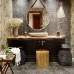 зеркало в ванную комнату идеи декор