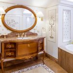 зеркало в ванную комнату фото интерьера