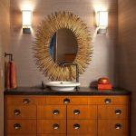 зеркало в ванную комнату идеи оформление