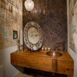 зеркало в ванную комнату идеи оформления
