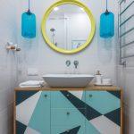 зеркало в ванную комнату виды