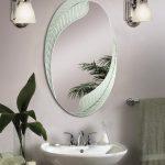 зеркало в ванную комнату виды дизайна