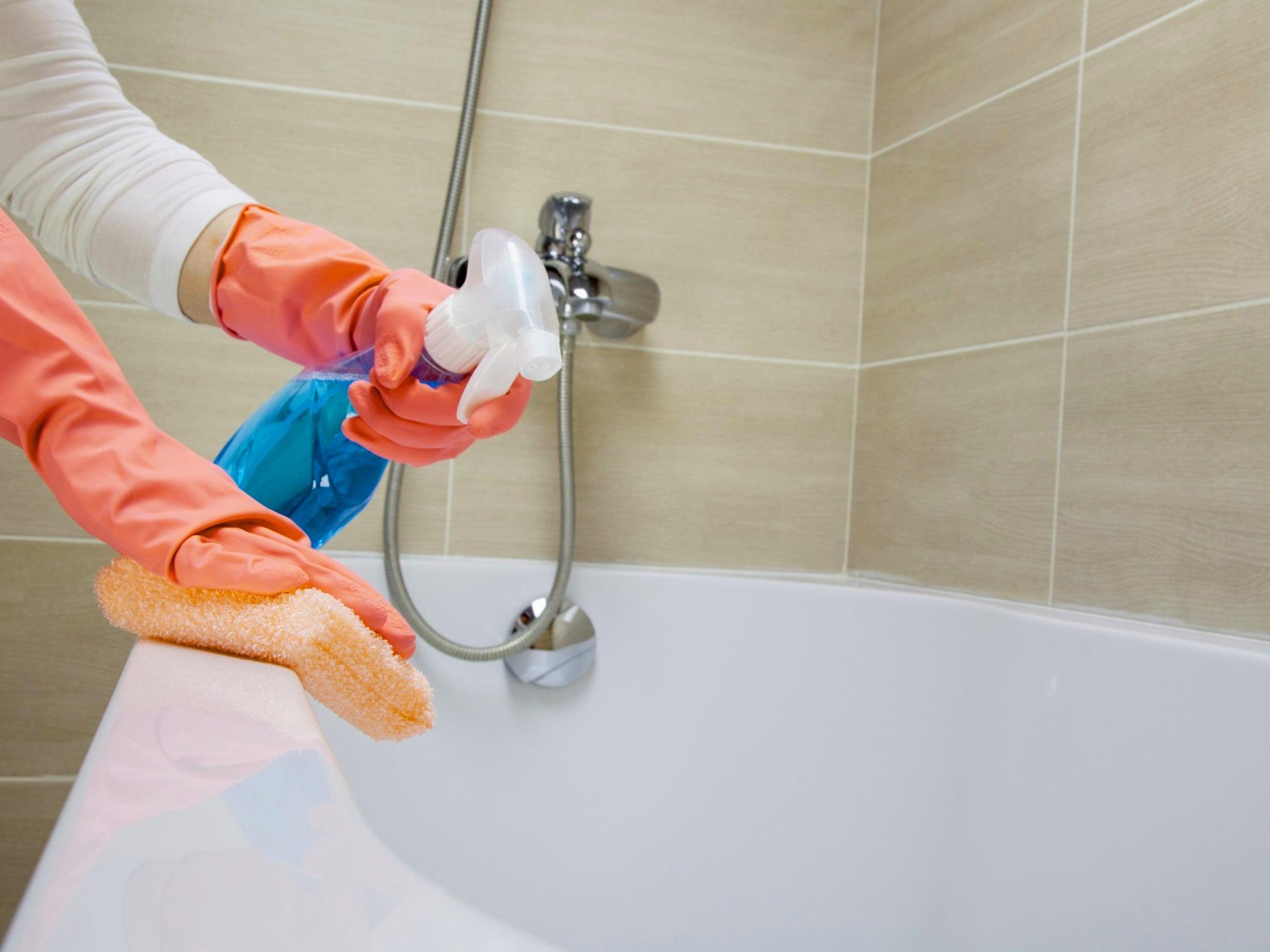 особенности мыться ванны