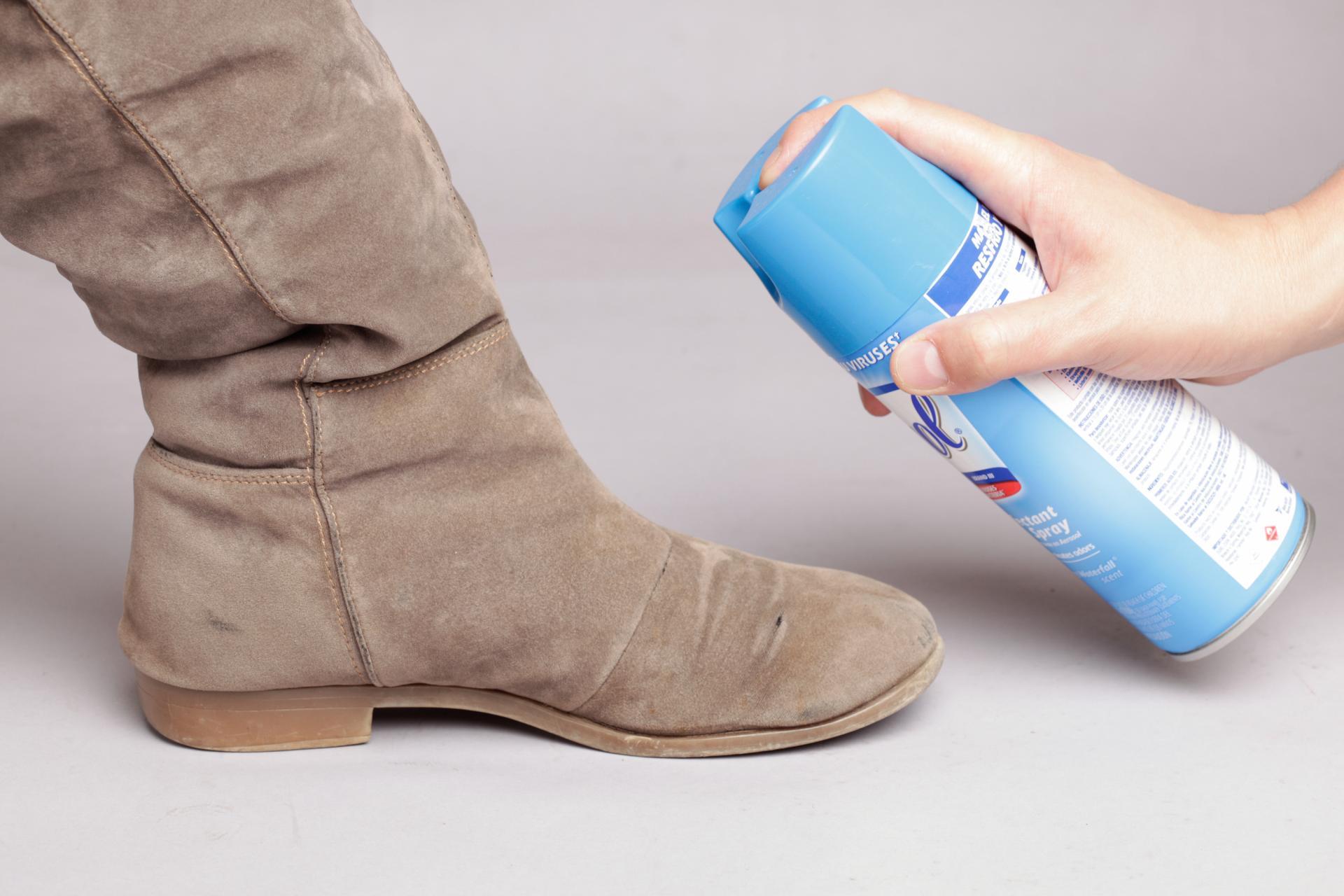 аэрозоли для замшевой обуви